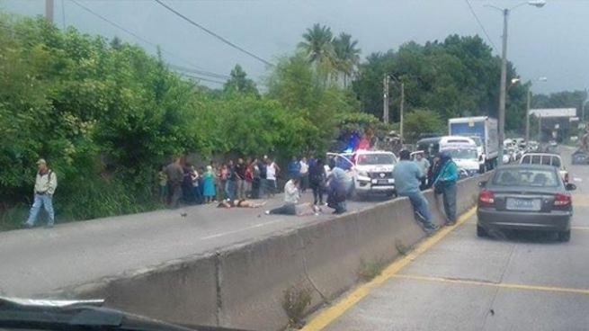 Al menos 2 lesionados en accidente de tránsito sobre la Carretera Troncal de Norte