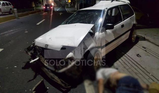 Accidente de tránsito deja una persona muerta sobre la avenida Jerusalén