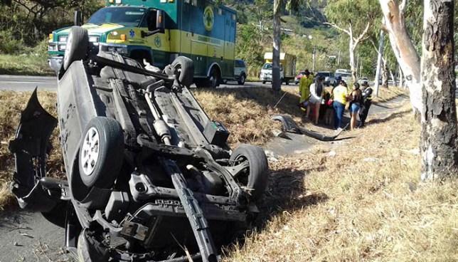 Autoridades registran más de 3,400 accidentes de tránsito en lo que va del año
