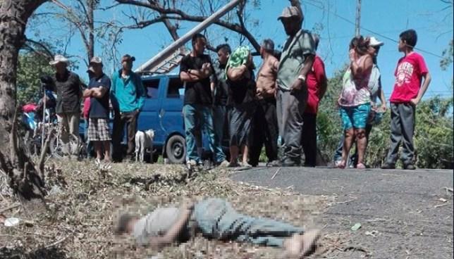 Conductor en estado de ebriedad arrolla y mata a un ciclista en El Tránsito, San Miguel