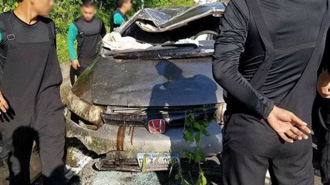 Aparatoso accidente de tránsito sobre la carretera a Huizúcar deja dos lesionados
