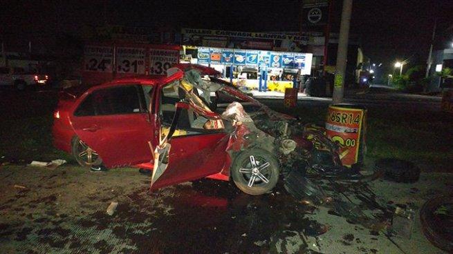Un fallecido y dos heridos tras accidente de tránsito en carretera Panamericana, La Libertad