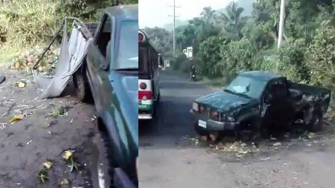Accidente de tránstio guatemaltecos