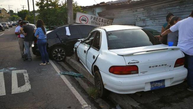 Accidente de tránsito sobre bulevar Venezuela deja 6 personas lesionadas