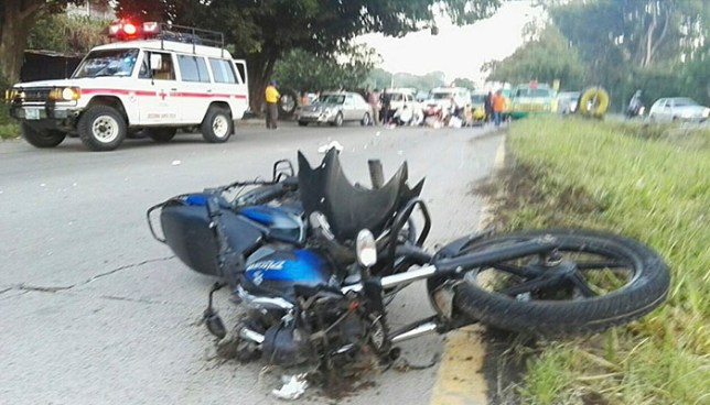 Seis lesionados y un muerto es el promedio diario de accidentes de motociclistas en El Salvador
