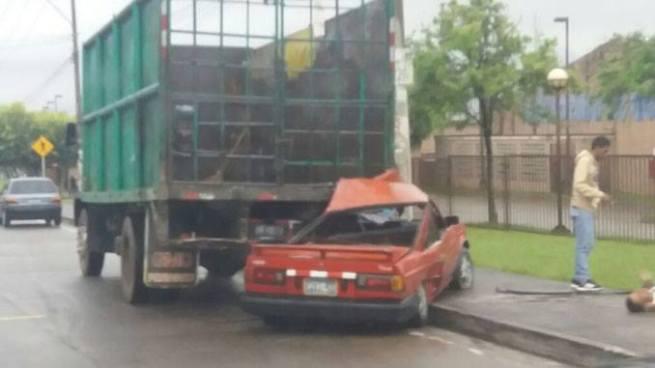 Racha de accidentes de tránsito a primeras horas de este viernes