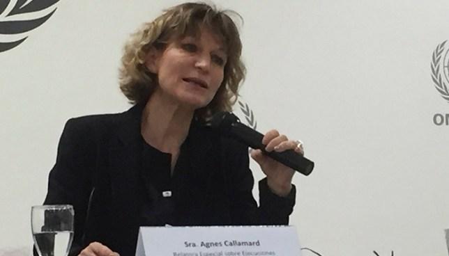 Relatora de la ONU pide al gobierno eliminar las mediadas extraordinarias
