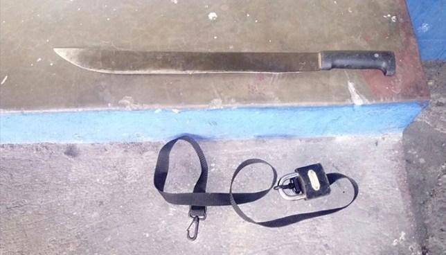 Capturan a alumnos del INFRAMEN que pretendía atacar con un machete a estudiantes de otro instituto