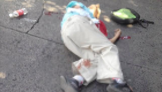 Anciano es atropellado por un autobús de la ruta 101-D en Santa Tecla