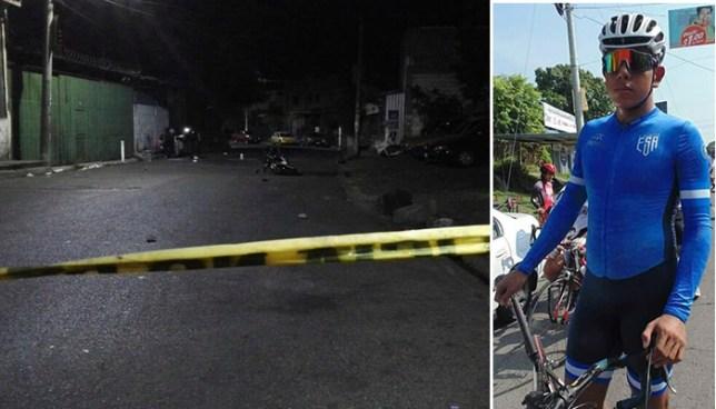 Asesinos de seleccionado nacional de ciclismo se habrían equivocado de víctima