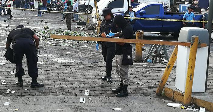 Muere agente del CAM que resultó herido en ataque armado del mercado La Tiendona