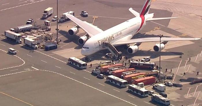 EE.UU: Ponen en cuarentena a pasajeros de avión que se enfermaron durante vuelo
