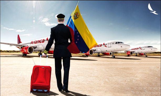 Avianca suspenderá vuelos hacia y desde Venezuela por dificultades operacionales