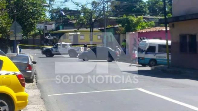 Una balacera se registro en Pila Seca de Soyapango, dejando como saldo un herido