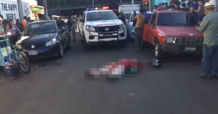Dos fallecidos y un agente de la PNC lesionado tras balacera en Sonsonate
