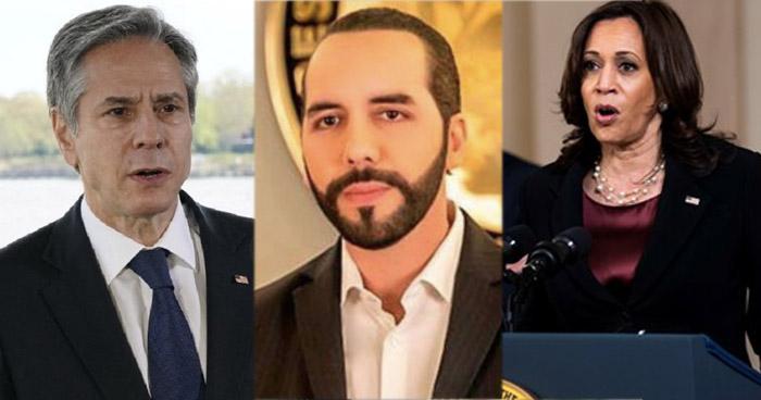 Vicepresidenta y Secretario de Estado de EE.UU. preocupados por destituciones de Sala y el Fiscal