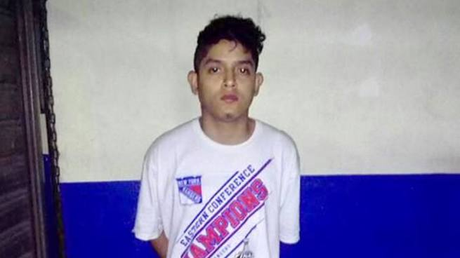 Homicida es detenido por la policía en el centro de San Salvador