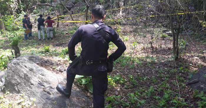Dos cadáveres fueron encontrados en una tumba clandestina en Apastepeque, San Vicente