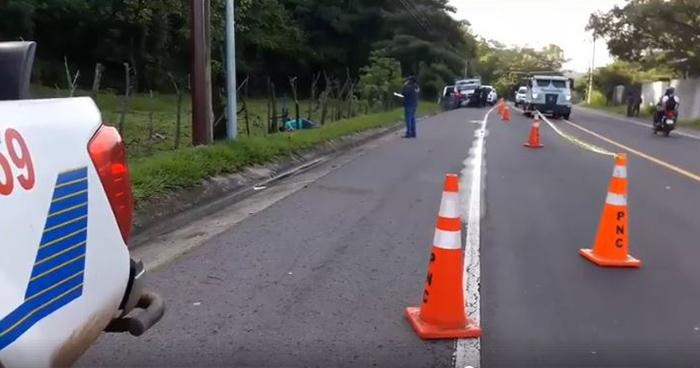 Hallan cadáver de un hombre en carretera Troncal del Norte