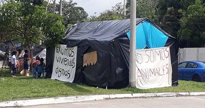 Muere mujer que fue desalojada de la comunidad El Espino, en Antiguo Cuscatlán