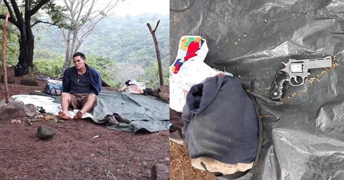 Desmantelan campamento de pandilleros y captura a tres terroristas en San Vicente