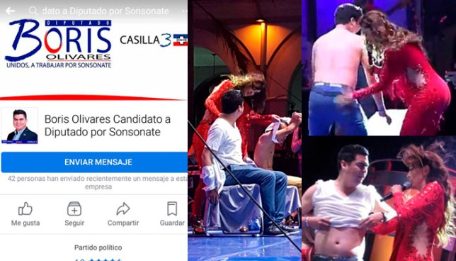 Candidato a Diputado por ARENA se desnuda y baila en las fiestas de Sonsonate