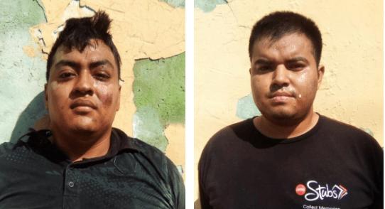 Dos ladrones son capturados en San Salvador