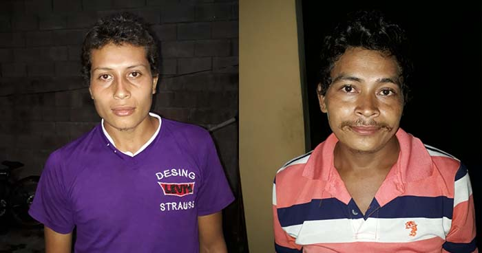 PNC de Ahuachapán arresta a sujetos buscados por el delito de homicidio