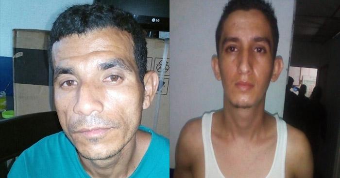 PNC atrapa en Ciudad Arce a dos sujetos por robo agravado y feminicidio