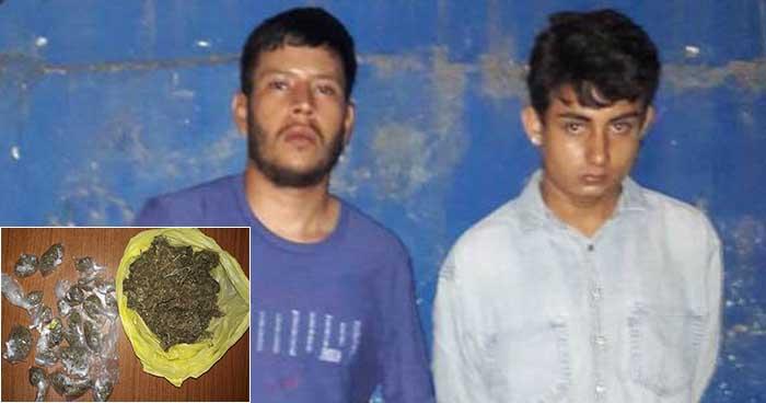 Capturan en San Salvador a pandilleros que tenían en su poder varias porciones de droga