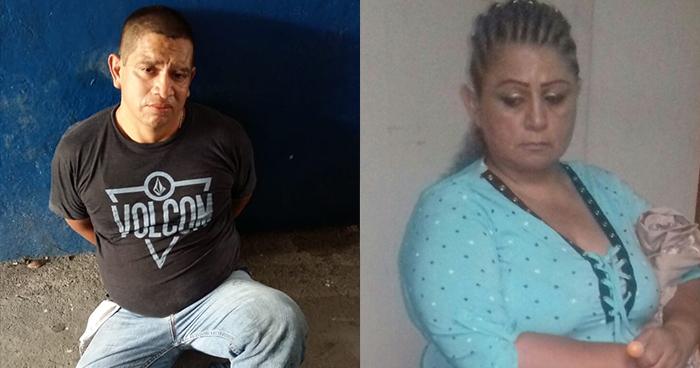 Capturan en San Salvador a extorsionista y a mujer que se encargaba de guardar el dinero