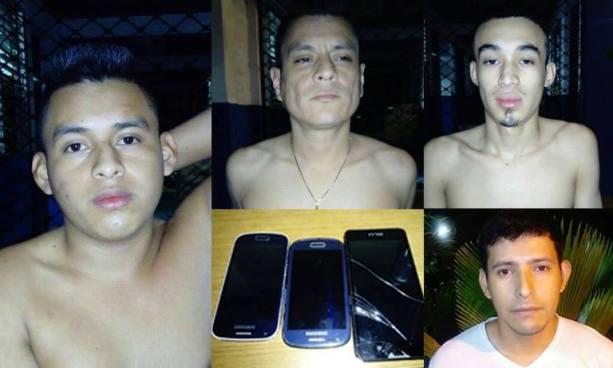 Policía de San Salvador captura a varios sujetos acusados de diversos delitos
