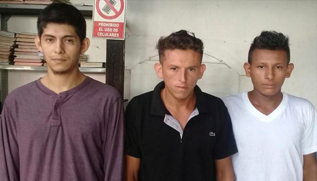Policía de Morazán captura a cinco sujetos vinculados a diversos asesinatos