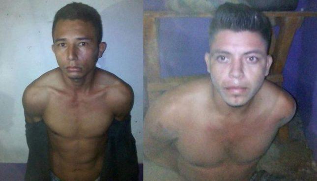 Capturan a dos delincuentes en Morazán por estos delitos