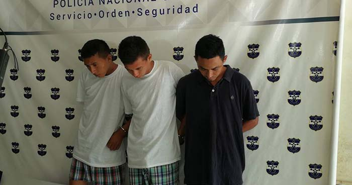 Capturan en San Miguel a pandilleros que transportaban marihuana en una mochila
