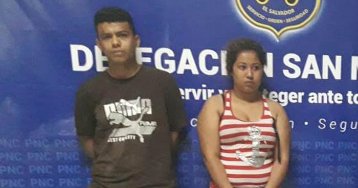 Arrestan en San Miguel a pareja y una menor que portaban 200 porciones de marihuana