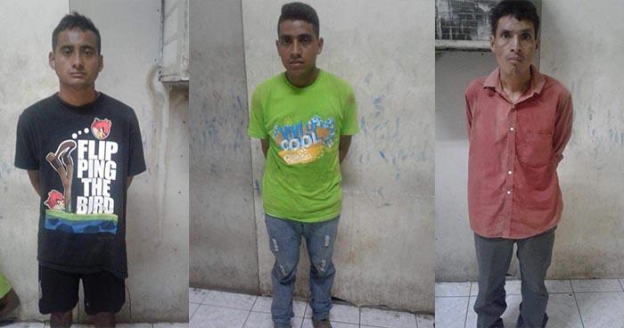 Policía atrapa a pandilleros que atentaron contra una familia en Lolotique, San Miguel