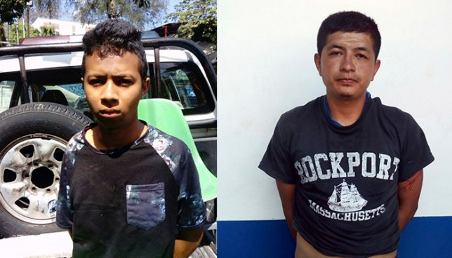 Armados y con droga fueron capturados dos sujetos en San Salvador