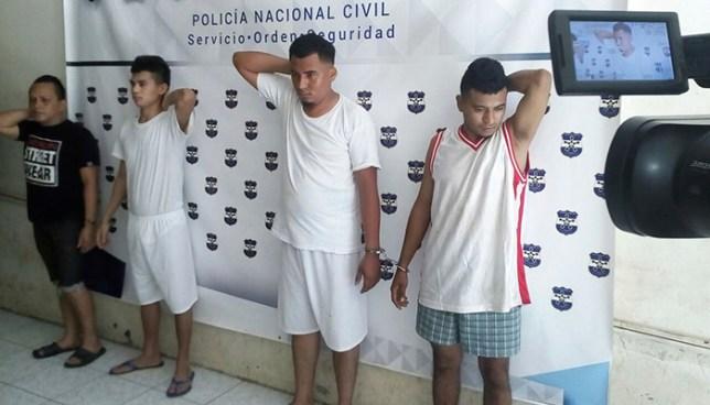 Detienen en San Miguel a sujetos acusados por homicidio y posesión de droga