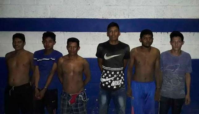 Operativo en Sonsonate deja la captura de más de 30 sujetos