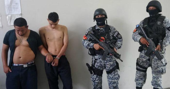 PNC atrapa en Soyapango a pandillero que portaba una subametralladora