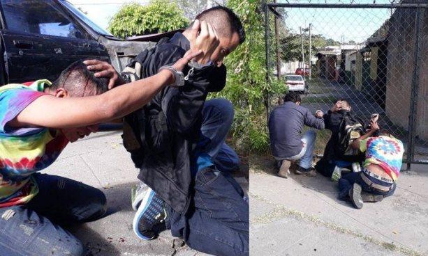 Cuatro asaltantes, miembros de pandillas, son capturados tras persecución en Bulevar Universitario