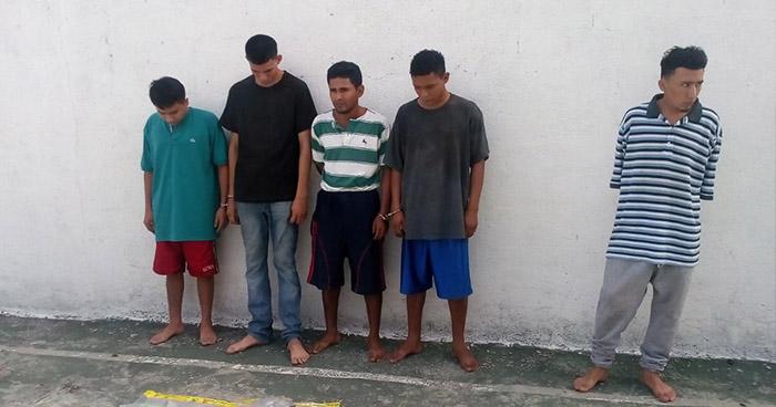 Capturan en Usulután a sujetos por tráfico de droga y agrupaciones ilícitas