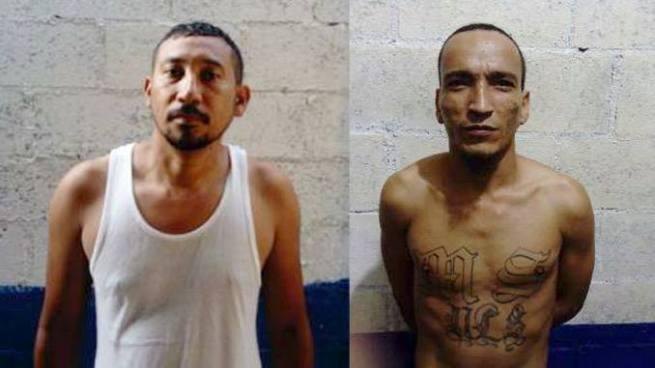 PNC de Usulután captura a dos sujetos acusado por diversos delitos