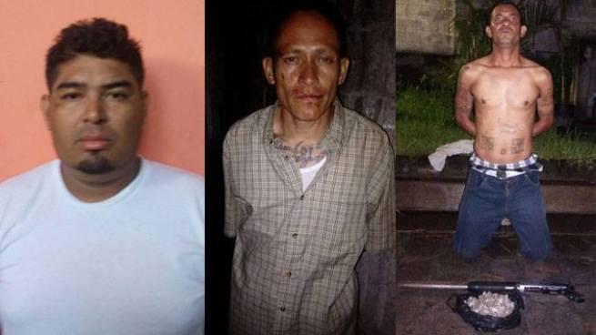PNC captura en Soyapango a tres sujetos acusados por diferentes delitos