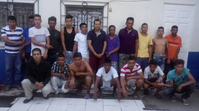 Operativo logra la captura de 18 sujetos vinculados al delito de homicidio