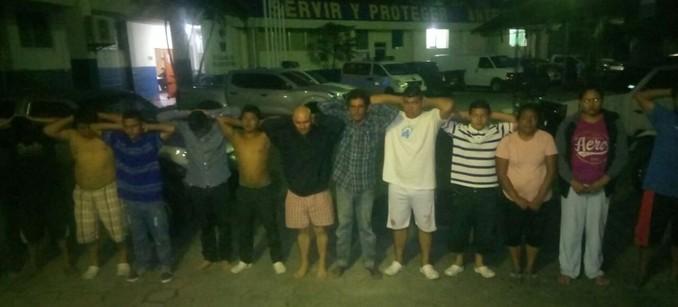Capturan a pandilleros vinculados al homicidio en San Martín