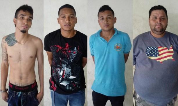 Capturan a cuatro sujetos por hurtar más de $1,000 dólares de café en San Miguel