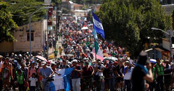Gobierno estadounidense acusa a Venezuela de financiar caravana de migrantes hondureños