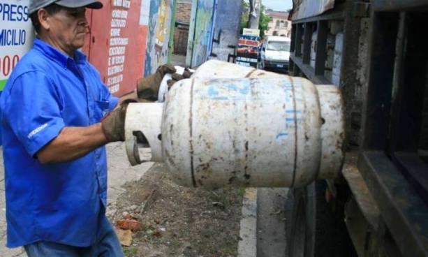 Gas propano experimentara reducciones en el precio de sus cilindros